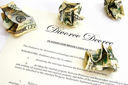 Talk to a dedicated Tampa, FL family law attorney or divorce lawyer about getting money while your divorce is on file and afterwards.